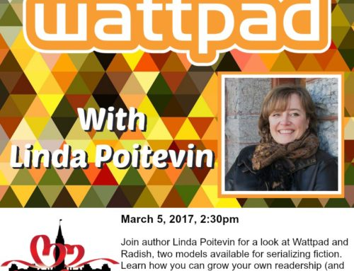 March 5 Workshop: Wattpad with Linda Poitevin