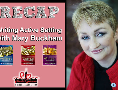 Workshop Recap: Writing Active Setting with Mary Buckham