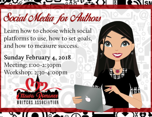 February Workshop: Social Media for Authors